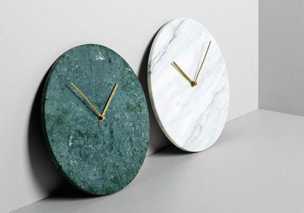 Menu-Marble-Wall-Clock