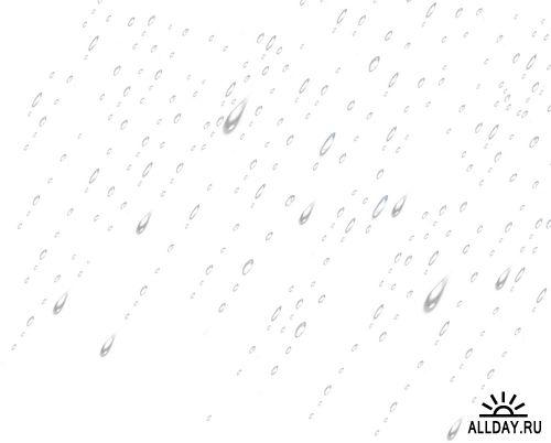 Raindrops on glass and rain behind glass   Капли дождя на стекле и дождь за стеклом