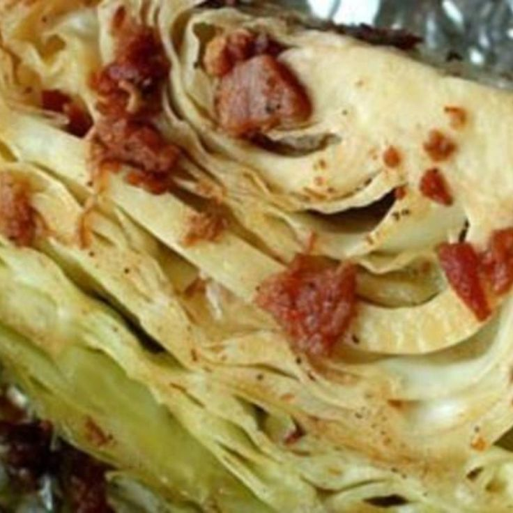 Roasted Cabbage Wedges Recipe | Just A Pinch Recipes