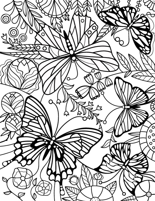 Crush image with free printable coloring pages for adults advanced flowers