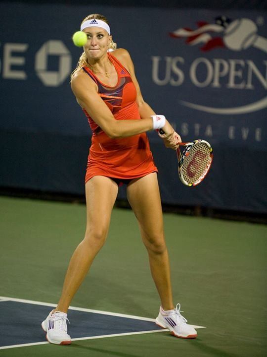 Kristina Mladenovic - US Open in NYC August 2013 #WTA #Mladenovic #USOpen