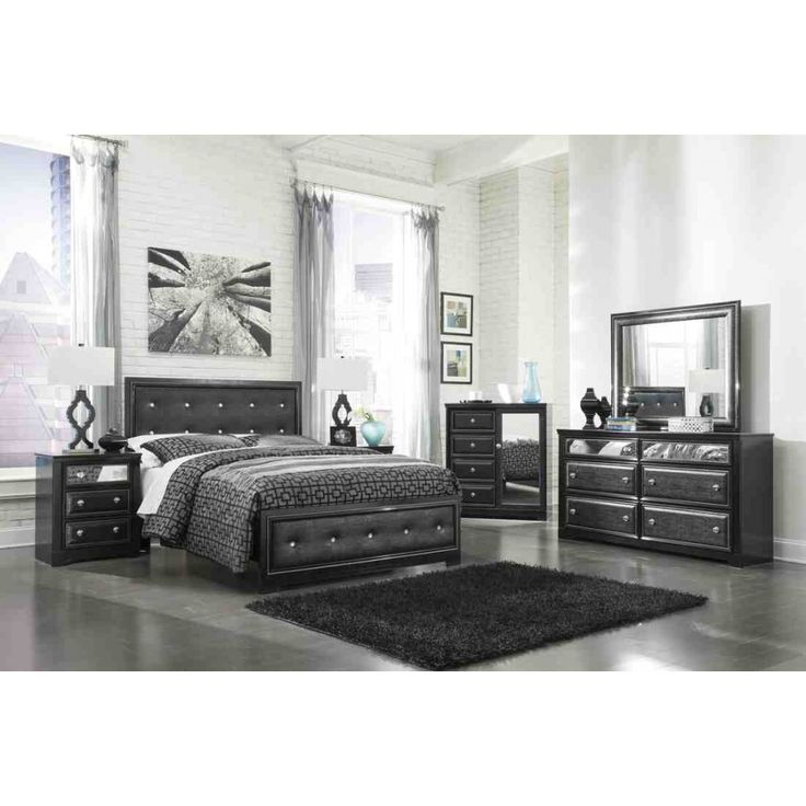 1000 ideas about ashley furniture bedroom sets on - Ashley furniture black bedroom set ...