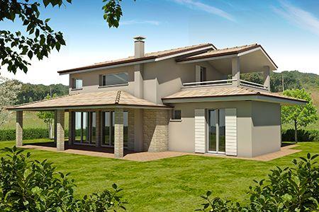 Progetti case di campagna excellent la casa nel bosco di for Case rustiche moderne