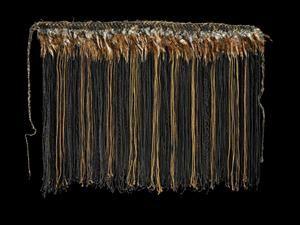 pake karure (waist or shoulder garment) Registration No ME004269 - collections_tepapa_govt_nz