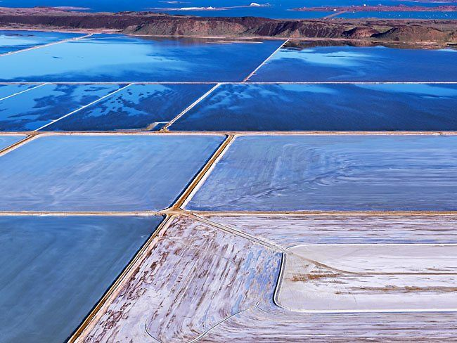 Dampier salt flats in the Pilbara, Western Australia