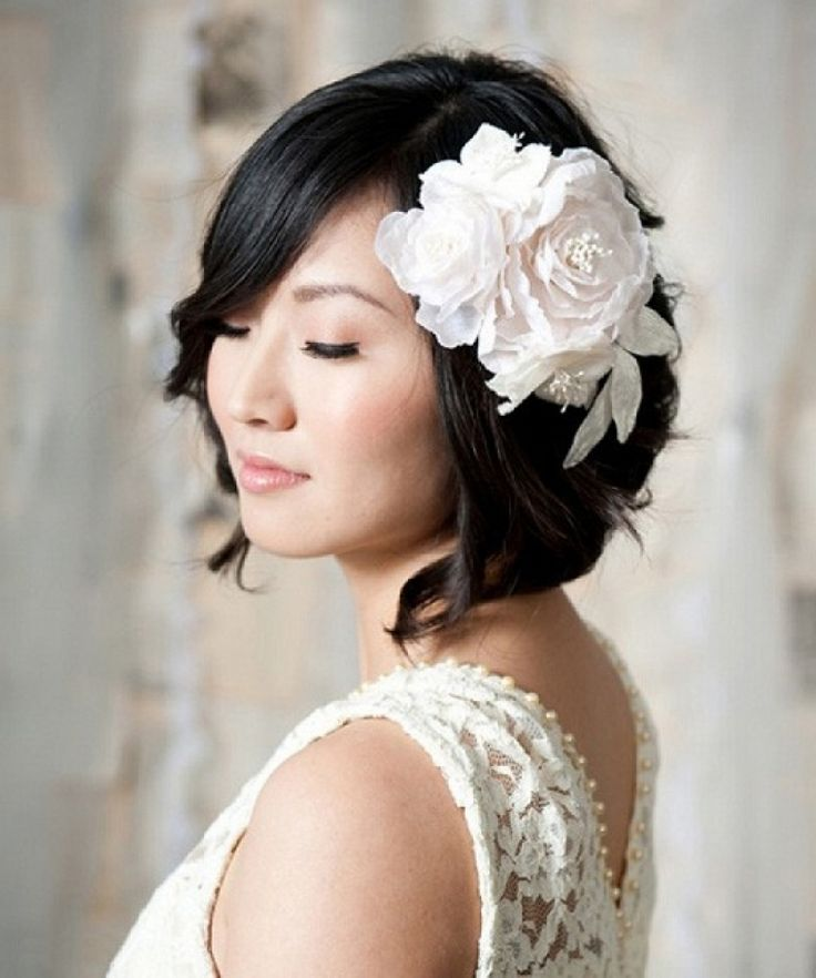 1000+ Ideas About Short Bridesmaid Hairstyles On Pinterest