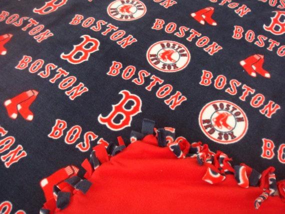 #Boston Red Sox Fleece #Blanket