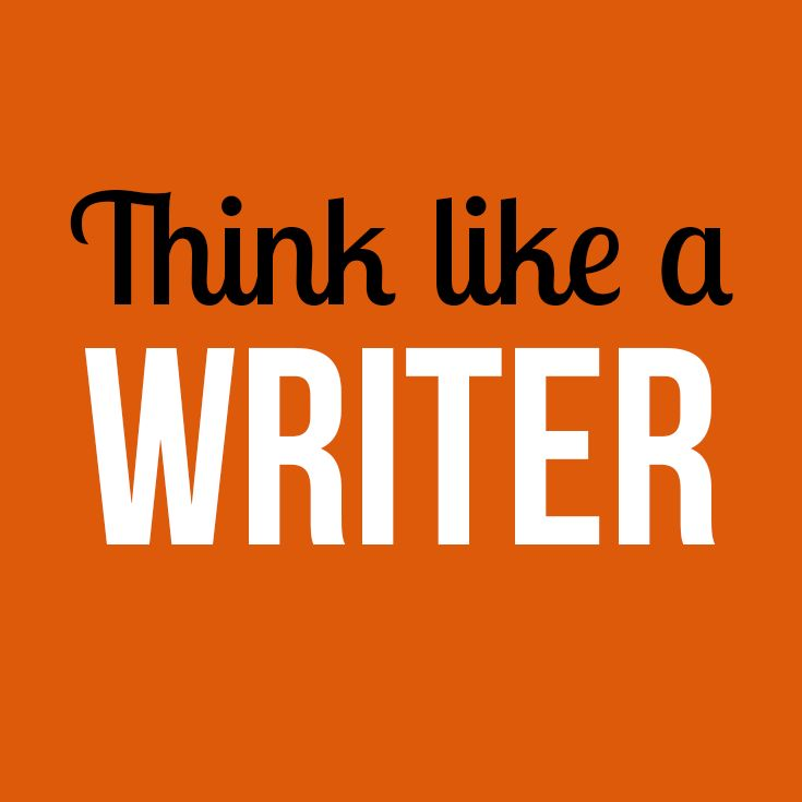 There's Only Ever One Bonnie: Think Like a Writer