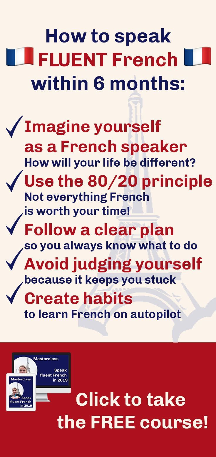 how to learn french language free