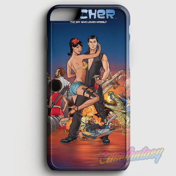 Archer Season 2 iPhone 6/6S Case | casefantasy