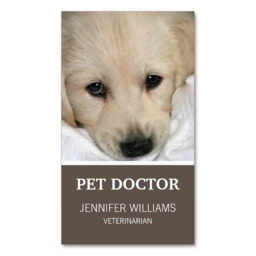Groupon Dog Doctor Business Card