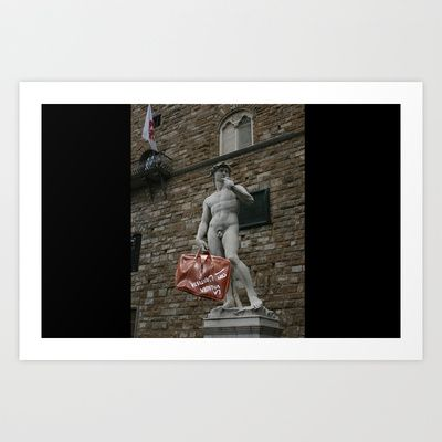 david Art Print by Francesco Mestria