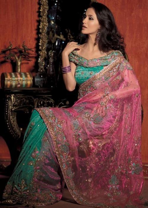 International Fashion: Indian Saree blouse Style Fall/Winter
