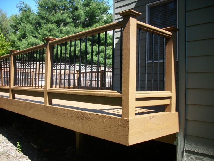 Best Deck Railing With Metal Balusters See Many Deck Railing 640 x 480