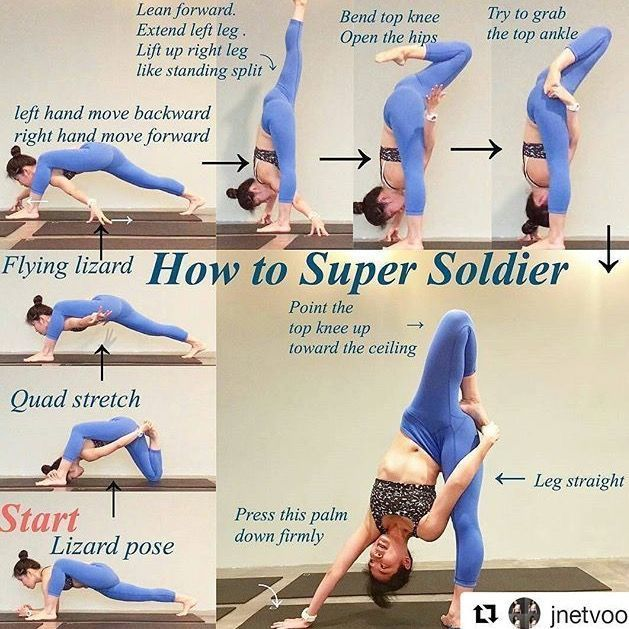 Progression Soldier Super Yoga Pose Into Progression Soldier Super Yoga Pose Into Pose P In 2020 Yoga Poses Advanced Easy Yoga Workouts Advanced Yoga
