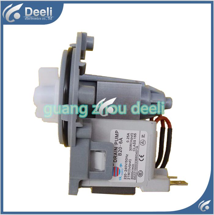 new for washing machine parts DC31-00030A = B20-6A = B20-6 drain pump motor 30W good working #men, #hats, #watches, #belts, #fashion, #style