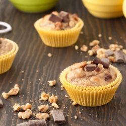 Chunky monkey muffins (gluten-free, grain-free, dairy-free) #foodgawker I need to start using up my supply of frozen ripe bananas!Muffins Gluten Fre, Chunky Monkeys, Monkeys Muffins, Frozen Ripe, Paleo, Dairy Fre, Dairy Gluten Free, G Free, Cakes Cupcakes Muffins