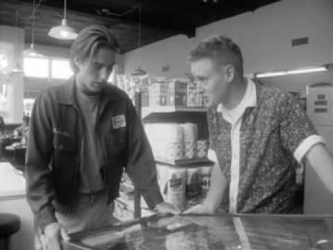Bottle Rocket by Wes Anderson. The original short shown at Sundance.