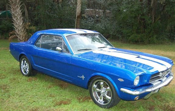 1965 Ford Mustang Coupe - Gotta love the 'Stang