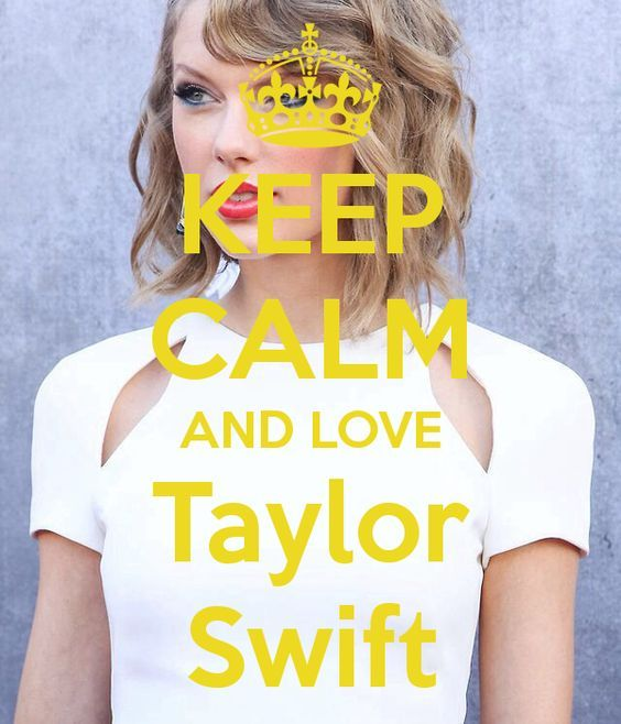 I love Taylor Swift! #Swiftie