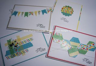 lilypopcrafts : Stampin' Up! - What To Do With Washi Tape? featuring Cherry On Top - Part 1