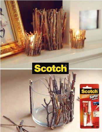 17 best images about decorar con vidrio on pinterest for Manualidades para decorar la casa