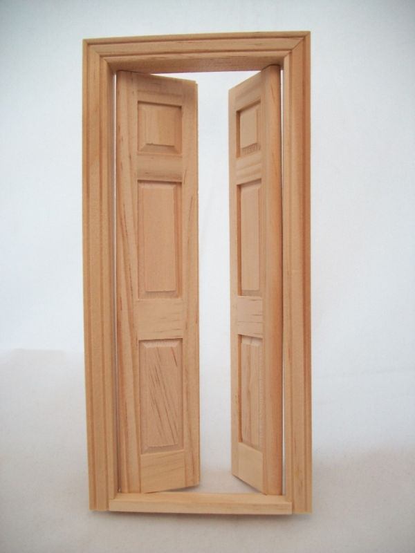 Split Door Dollhouse Pinterest Doors