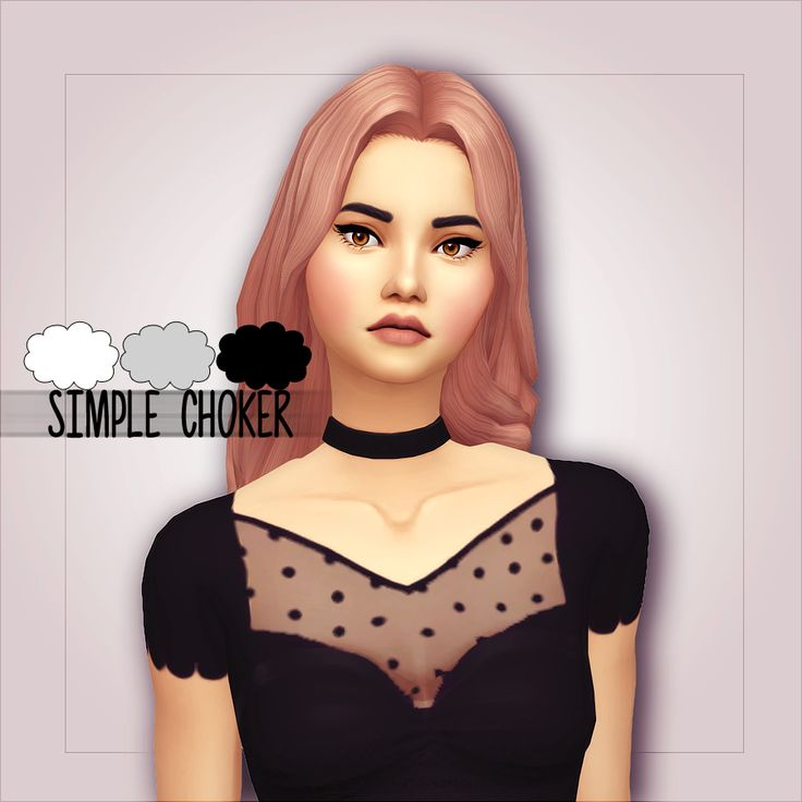 Hello everyone! I am back with a very simple choker :) I hope you will like it. I'm trying new things :) • 3 colors! • Base game compatible • If you use, please tag me I want to see the result! :) •...