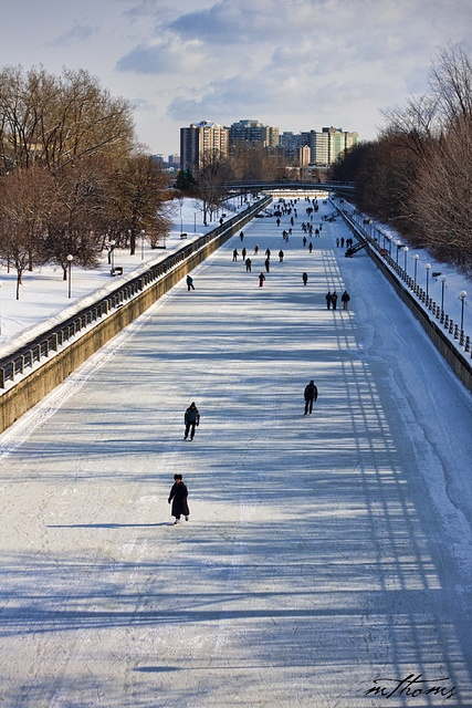 Rideau Canal, Ottawa Canada - the world's longest skating rink