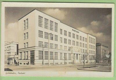 Budynek poczty przy ul. 10 Lutego Wyd. Julius Simonsen Oldenburg in Holstein