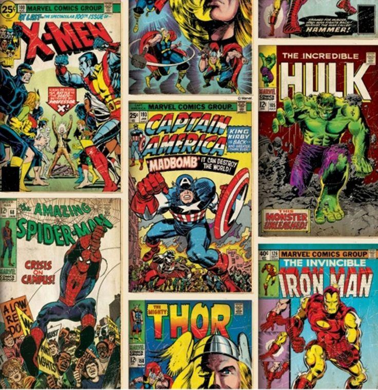 Disney Tapet Marvel   Barnerommet På veggen   Jollyroom