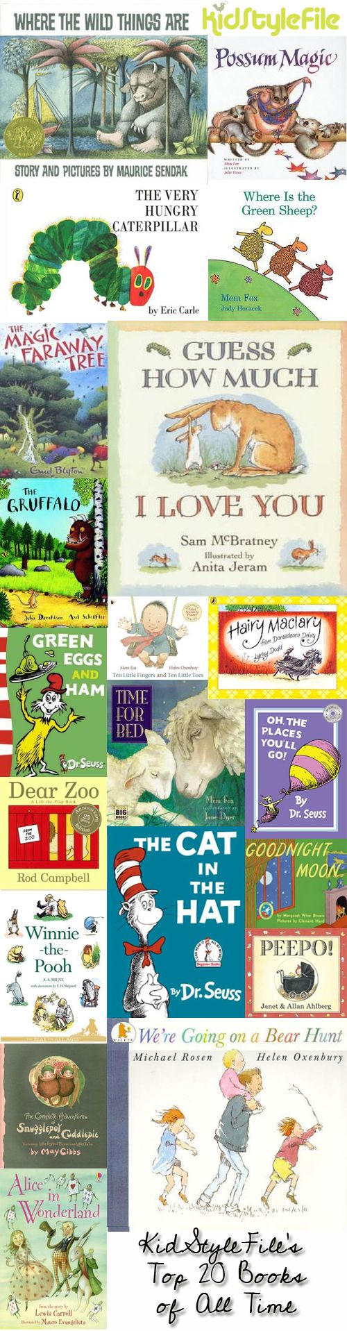 favourite kids books of all time