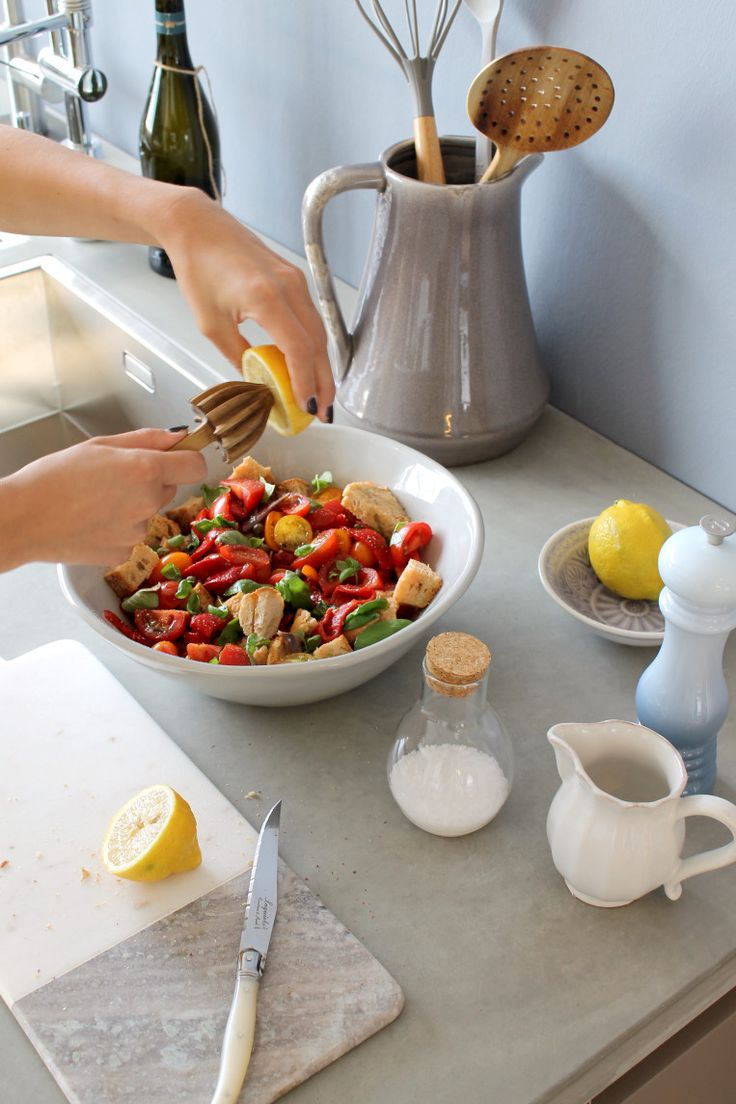 What's cooking? Panzanella: Toscaanse zomer salade   LOODS 5