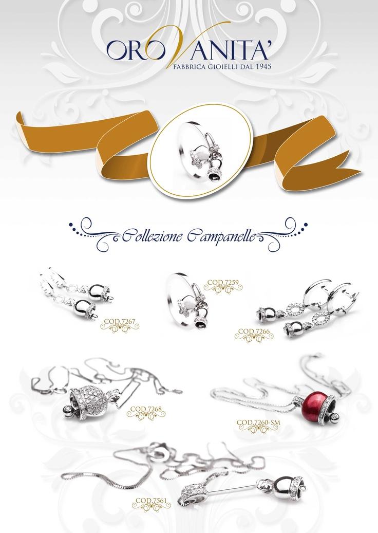 """Catalogo OroVanità 2013    Collezione """" Campanelle"""""""