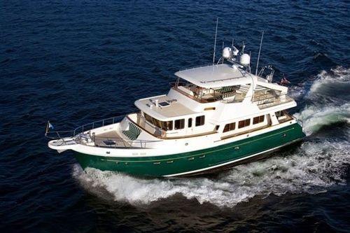 luxury yacht : flybridge trawler motor-yacht SELENE 60 Selene