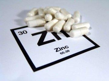 Таблетки и знак цинка
