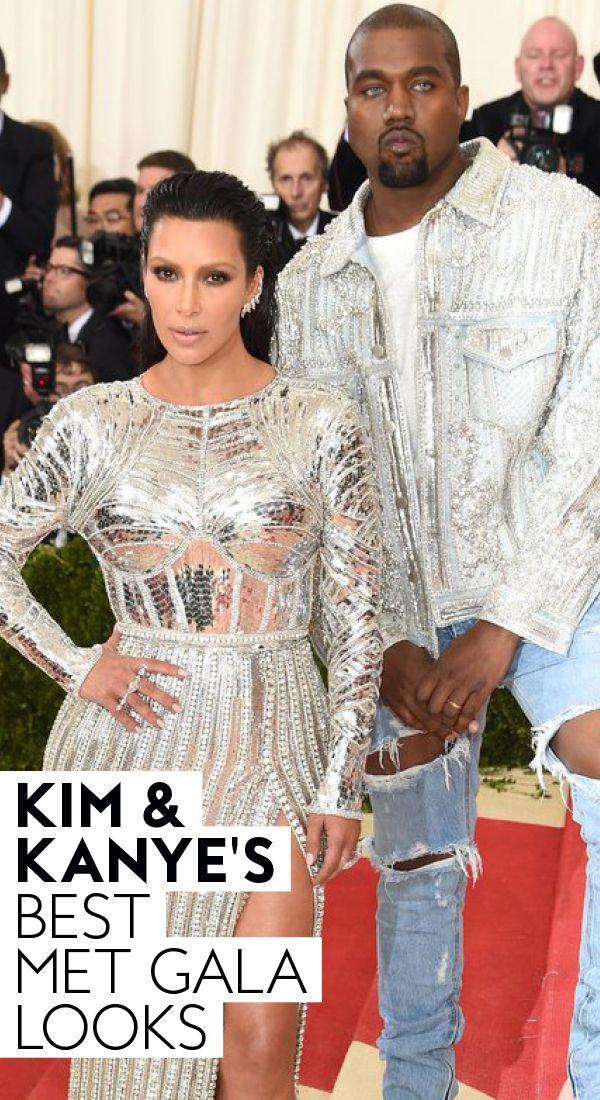 See Kim Kardashian And Kanye West S Best Met Gala Looks Through The Years Metgala Redcarpet Kardashians K Met Gala Looks Met Gala Kim Kardashian And Kanye