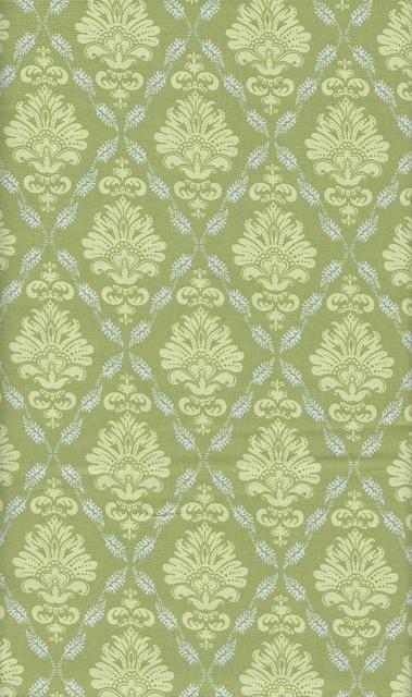 Tilda Fabric - Ruby Green