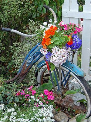 Цветы в сапожках особенно понравились