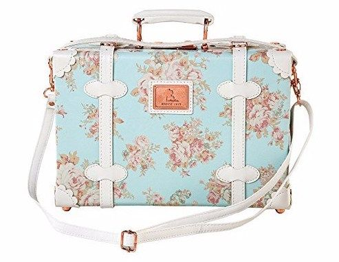4e90e94bc105 Vintage inspired small travel suitcase / carry-on bag. Affordable ...