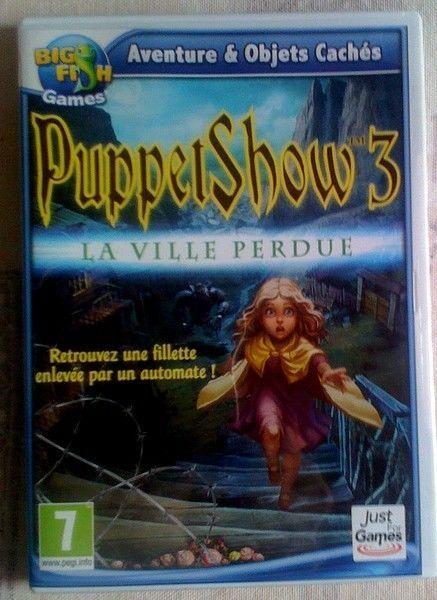 Collection Big Fish - Aventures & Objets Cachés Puppet Show 3 - La Ville Perdu