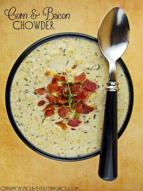 Corn & Bacon Chowder