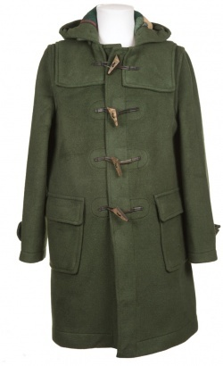 Gloverall Duffle Coat Dark Green
