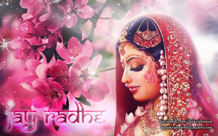 To view Radharani wallpapers in difference sizes visit - http://harekrishnawallpapers.com/srimati-radharani-artist-wallpaper-002/