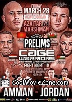Watch Cage Warriors Fight Night 10 Facebook Prelims (2014) Online For Free - Watch Free Movies Online - CoolMovieZone @ http://coolmoviezone.com/cage-warriors-fight-night-10-facebook-prelims-2014/