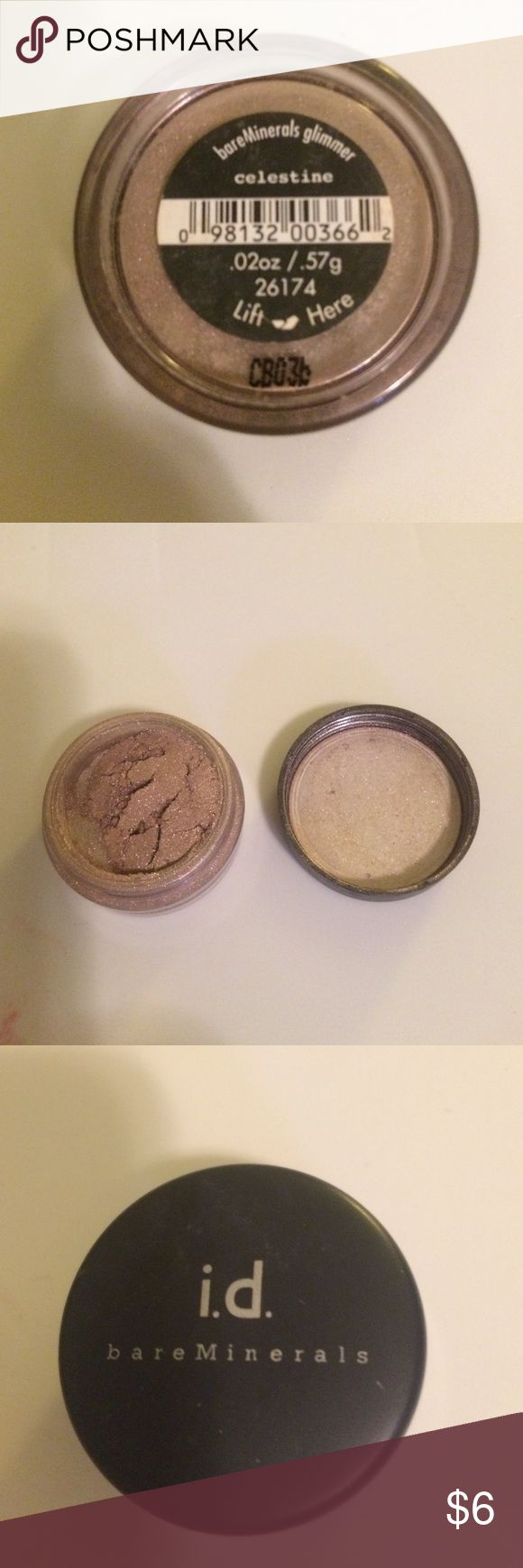 Bare minerals glimmer eye shadow in Celestine Barely used bareMinerals Makeup Eyeshadow