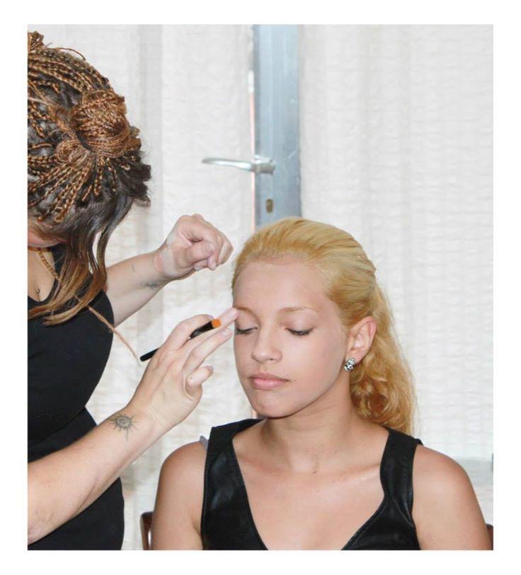 make-up per il concorso nazionale fotomodella d'Italia