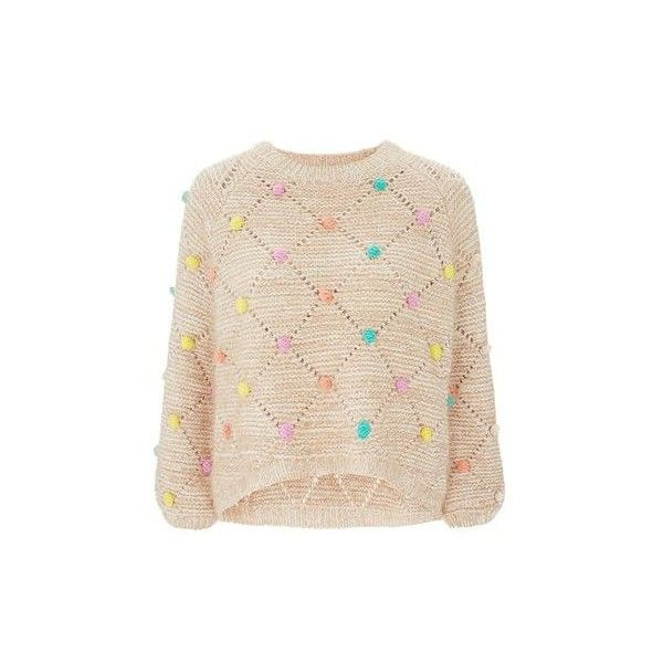 aa6add16fbf Multi Bobble Jumper by Nobody s Child (125 BRL) ❤ liked on Polyvore  featuring tops