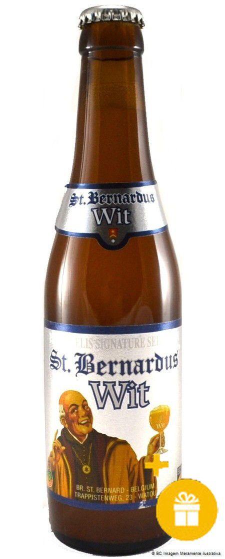 St Bernardus Wit 330ml   Brinde