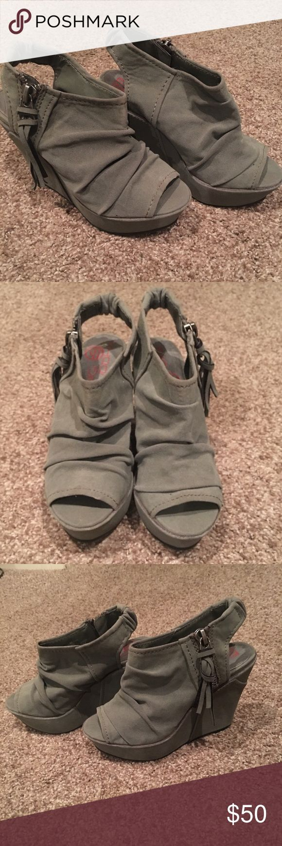 Big Buddha wedge shoes Big Buddha wedge shoes. Never worn New with tags Big Buddha Shoes Wedges